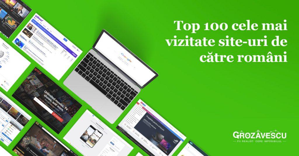 Top 100 site-uri Romania